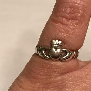 Solvar | Made In Ireland Claddagh Sterling Ring 7
